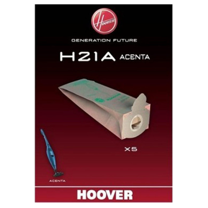 5 sacs aspirateur HOOVER - Type H21A / 09173873