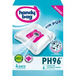 4 sacs HANDY BAG - PH96 (+ 1 filtre)