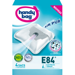 4 sacs HANDY BAG - E84 (+ 1 filtre)