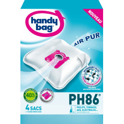 4 sacs HANDY BAG - PH86 (+ 1 filtre)