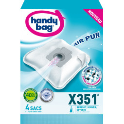 4 sacs HANDY BAG - X351 (+ 1 filtre)