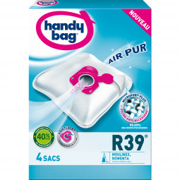 4 sacs HANDY BAG Microfibre - R39 (Type Hygiene+ ZR200520)